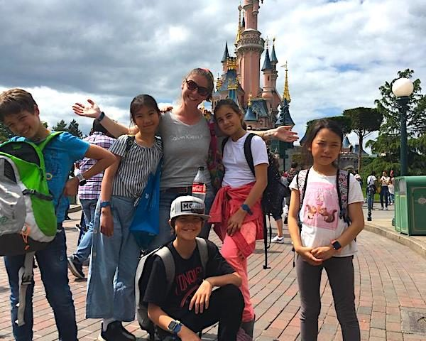 Disney with boarders